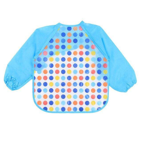 Image of Little Bumper Baby Bibs 5 / United States / 40x36cm Waterproof Colorful Baby Bibs with Full Sleeves
