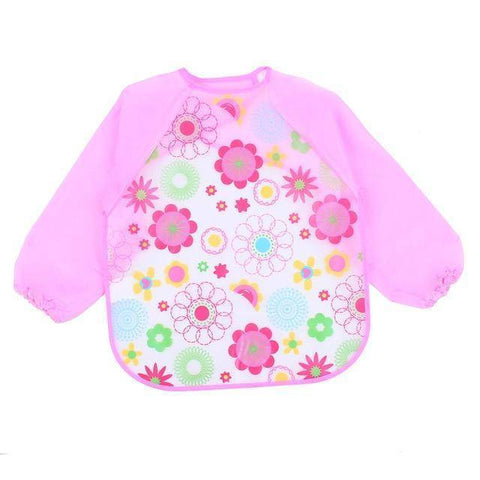 Little Bumper Baby Bibs 6 / United States / 40x36cm Waterproof Colorful Baby Bibs with Full Sleeves