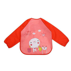 Little Bumper Baby Bibs 7 / United States / 40x36cm Waterproof Colorful Baby Bibs with Full Sleeves