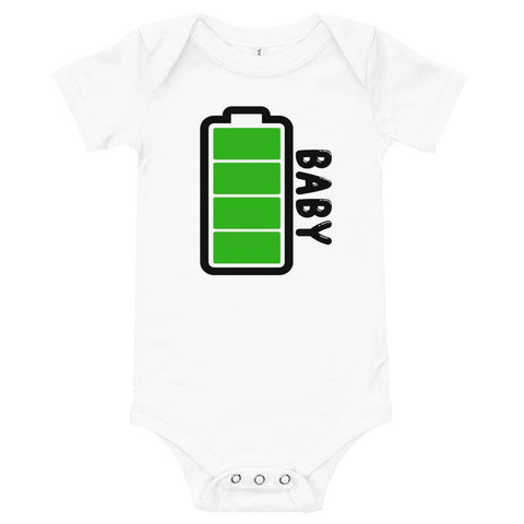 Little Bumper Baby Bodysuit Baby Battery Family Matching Baby Bodysuit