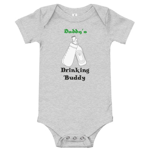 Image of Little Bumper Baby Bodysuit Daddy's Drinking Buddy Baby Bodysuit