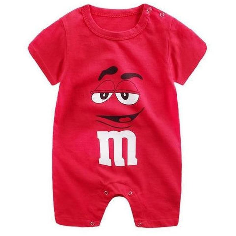 Image of Little Bumper Baby Clothes 1 / 12M-Height 65-70cm Romper Short Sleeve  Unisex Baby Clothes