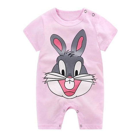 Image of Little Bumper Baby Clothes 11 / 3M-Height 55-60cm Romper Short Sleeve  Unisex Baby Clothes
