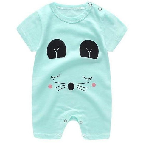 Image of Little Bumper Baby Clothes 12 / 18M-Height 70-75cm Romper Short Sleeve  Unisex Baby Clothes