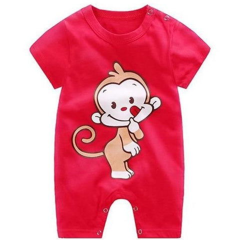 Image of Little Bumper Baby Clothes 2 / 3M-Height 55-60cm Romper Short Sleeve  Unisex Baby Clothes