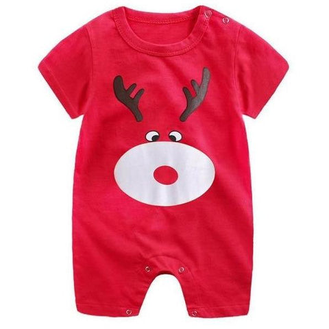 Image of Little Bumper Baby Clothes 3 / 3M-Height 55-60cm Romper Short Sleeve  Unisex Baby Clothes