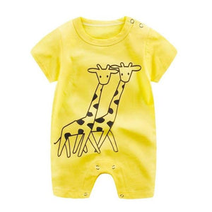 Little Bumper Baby Clothes 5 / 3M-Height 55-60cm Romper Short Sleeve  Unisex Baby Clothes