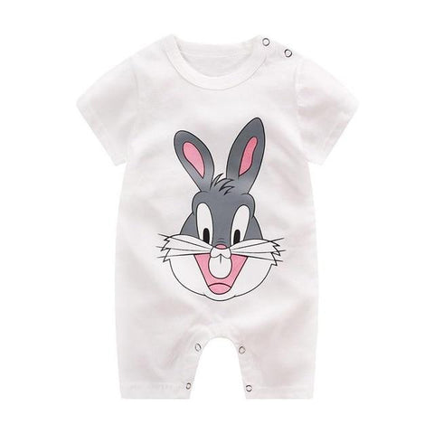Image of Little Bumper Baby Clothes 6 / 6M-Height 60-65cm Romper Short Sleeve  Unisex Baby Clothes