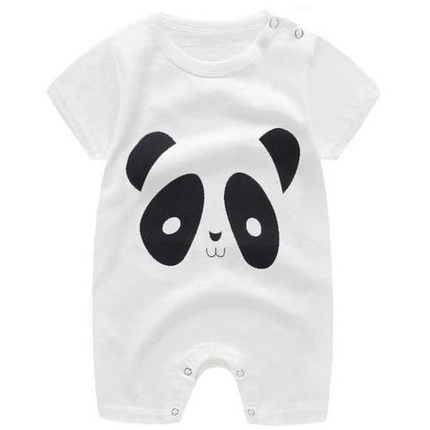 Image of Little Bumper Baby Clothes 7 / 24M-Height 75-82cm Romper Short Sleeve  Unisex Baby Clothes