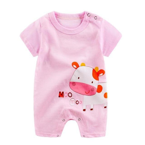 Image of Little Bumper Baby Clothes 9 / 12M-Height 65-70cm Romper Short Sleeve  Unisex Baby Clothes