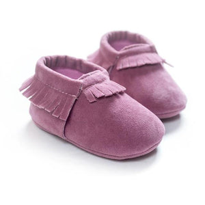 Little Bumper Baby Shoes G / 3 / United States Leather Newborn Baby Moccasins Shoes
