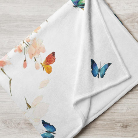 Little Bumper Butterfly Throw Blanket