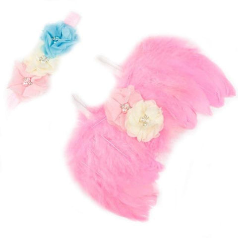 Image of Little Bumper Children Accessories 12 / United States Feather Wing  Girls  Headband