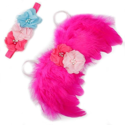Image of Little Bumper Children Accessories 13 / United States Feather Wing  Girls  Headband