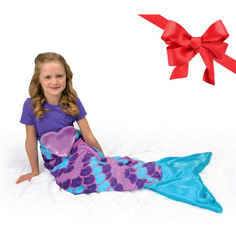 Image of Little Bumper Children Accessories 2-in-1 Mermaid Tail & Blanket