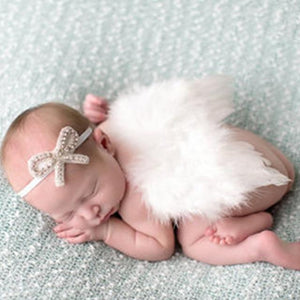 Little Bumper Children Accessories 27 / United States Feather Wing  Girls  Headband