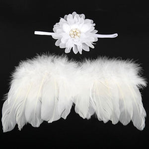 Little Bumper Children Accessories 3 / United States Feather Wing  Girls  Headband