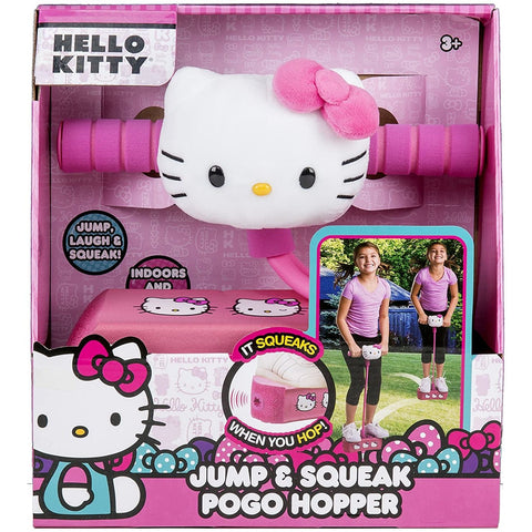 Little Bumper Children Accessories Hello Kitty Jump & Squeak Pogo Hopper