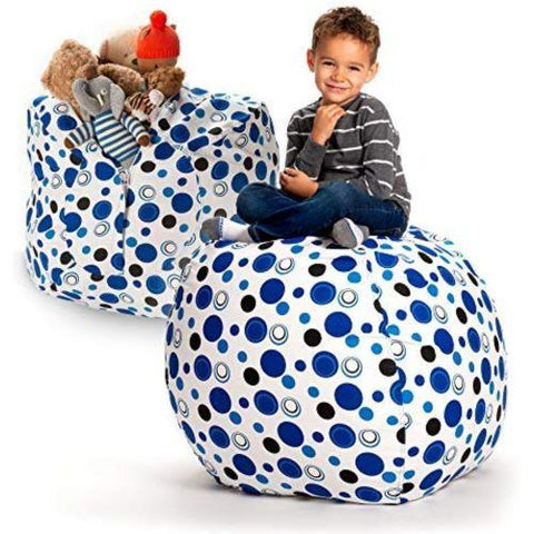 Little Bumper Children Accessories Large Stuff 'n Sit Bean Bag with Toy Storage