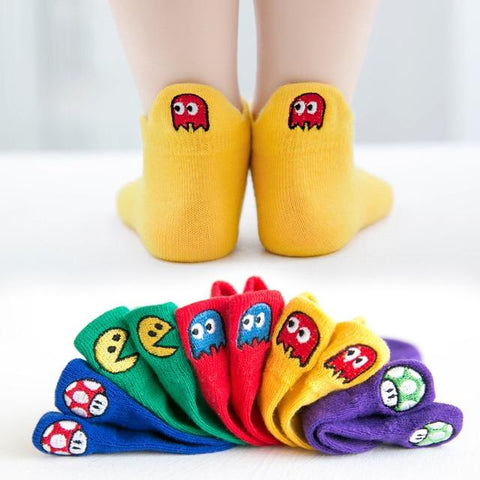 Image of Little Bumper Children Clothes 185 / XL(9-12 years old) Short Children Cotton Socks