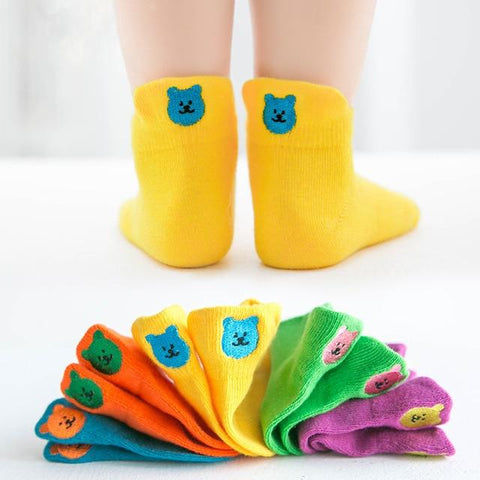 Image of Little Bumper Children Clothes 186 / S(1-3 years old) Short Children Cotton Socks