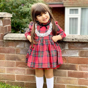 Little Bumper Children Clothes Long Sleeve Little Maid Costume for Children