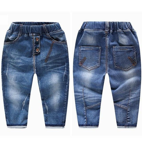 Image of Little Bumper Children Clothes NO6 Soft Stretchy / 18M / United States Stretchy Denim Trousers for Toddlers