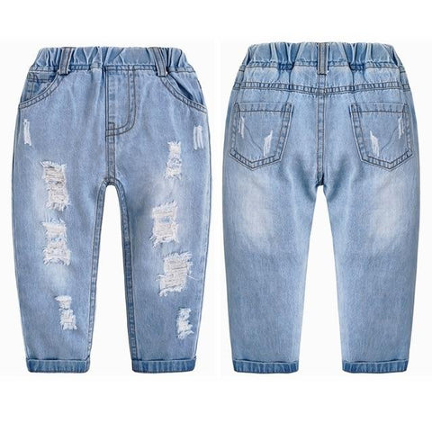 Image of Little Bumper Children Clothes NO7 Soft Thin / 6T / United States Stretchy Denim Trousers for Toddlers