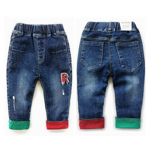 Little Bumper Children Clothes NO8 Stretchy / 18M / United States Stretchy Denim Trousers for Toddlers
