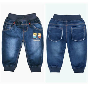 Little Bumper Children Clothes NO9 Cotton Denim / 18M / United States Stretchy Denim Trousers for Toddlers