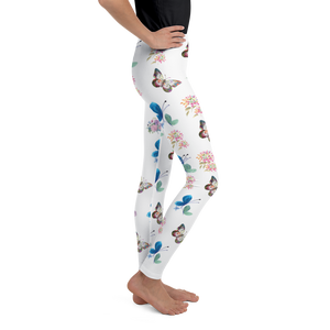 Little Bumper Children Clothes Youth Floral Butterfly Leggings
