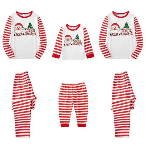 Image of Little Bumper Family Matching Clothes 22 / Mom L / United States Christmas Family Pajamas Set
