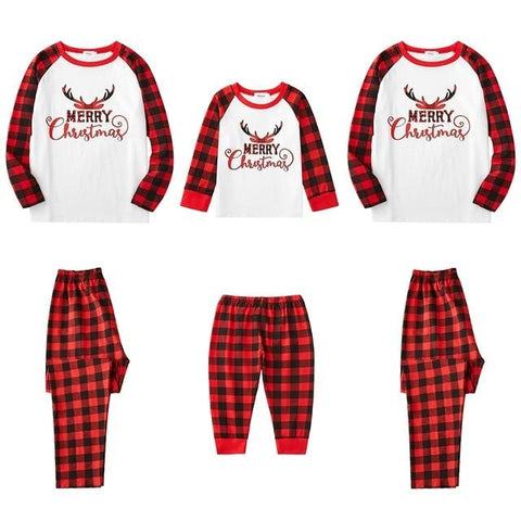 Image of Little Bumper Family Matching Clothes 4 / Dad L / United States Christmas Family Pajamas Set