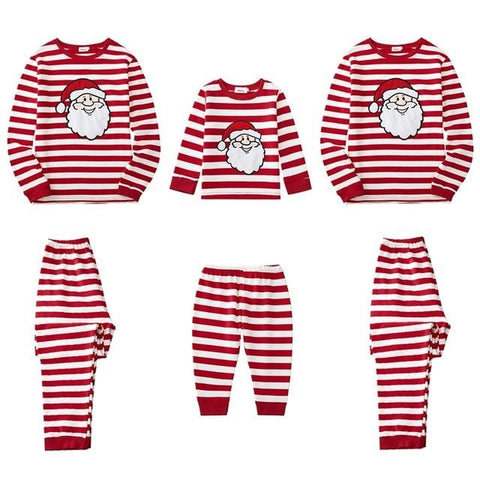 Image of Little Bumper Family Matching Clothes 5 / Kids 5-6Y / United States Christmas Family Pajamas Set