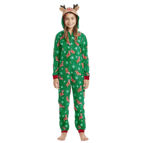 Image of Little Bumper Family Matching Clothes Christmas Family Matching Rompers Pajamas
