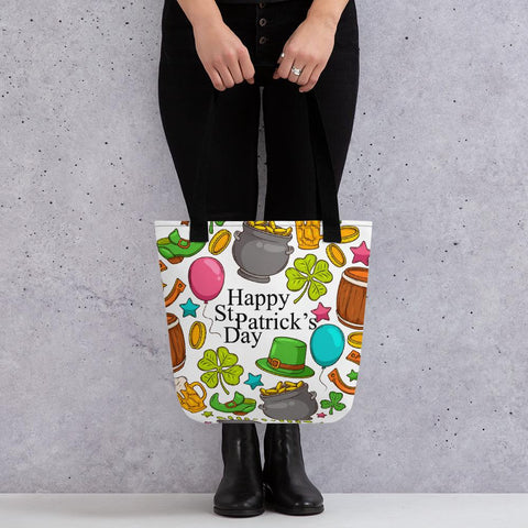 Little Bumper Happy St. Patrick's Day Tote bag