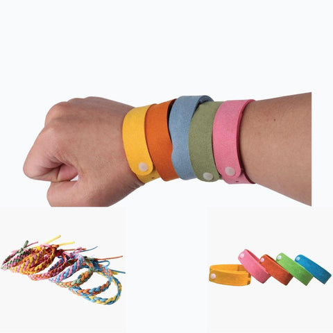 Little Bumper Health Safety Anti Mosquito Insect Bug Repellent Daily Wristbands