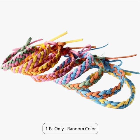 Little Bumper Health Safety Woven Bracelet - Random Color Anti Mosquito Insect Bug Repellent Daily Wristbands