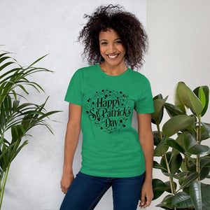 Little Bumper Kelly / XS Happy St. Patrick's Day Short-Sleeve Unisex T-Shirt