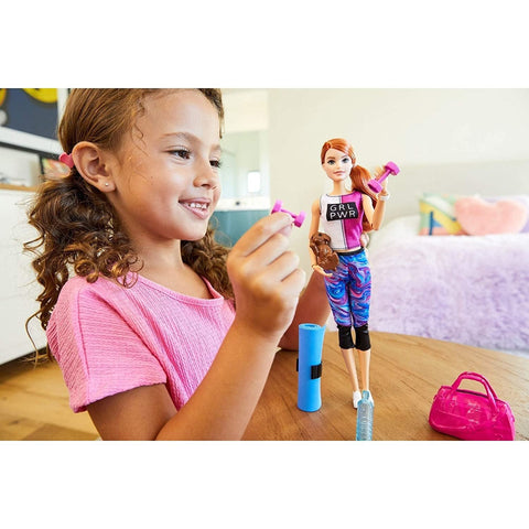 Image of Little Bumper Kids & Babies Fitness Barbie Doll w/ Accessories