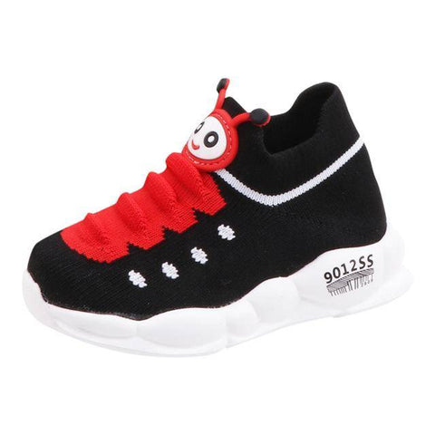 Little Bumper Kids Shoes Black / 29 / United States Sport Stretch Mesh Children Sneakers