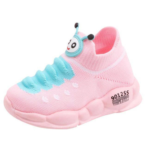 Little Bumper Kids Shoes Pink / 23 / United States Sport Stretch Mesh Children Sneakers