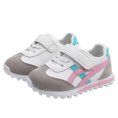 Image of Little Bumper Kids Shoes Pink / 28 Children Soft Sports Shoes