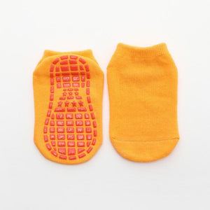 Little Bumper Kids Socks 10 / 11 years old-Adult Non-slip Floor Socks for Boys and Girls