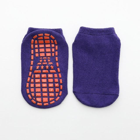 Image of Little Bumper Kids Socks 3 / 11 years old-Adult Non-slip Floor Socks for Boys and Girls