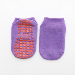 Little Bumper Kids Socks 5 / 6-10 years old Non-slip Floor Socks for Boys and Girls