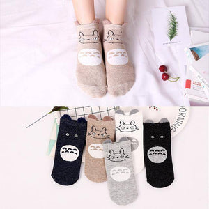 Little Bumper Kids Socks XG29 / 5Pairs(for6-12years) / United States Kids Soft Cotton Seamless Ankle Socks - 5 Pairs