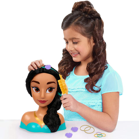 Image of Little Bumper Kids Toys 14pc Princess Jasmine Styling Head