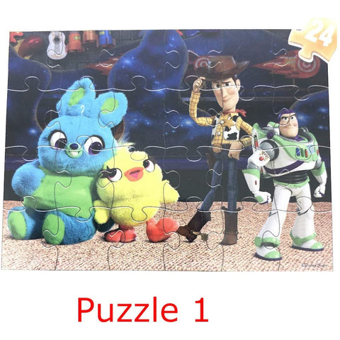 "Little Bumper Kids Toys 5-Pack ""Toy Story 4"" Wooden Puzzles"