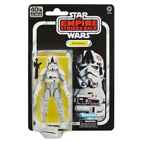 "Little Bumper Kids Toys 6-inch ""Star Wars"" The Black Series AT-AT Driver Figure"